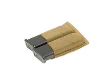 Blue Force Gear Ten Speed Double Magazine Pouch For Pistols, Coyote Brown - HW-TSP-PISTOL-2-CB