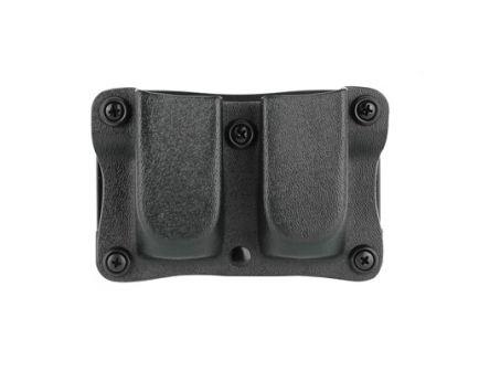 DeSantis Gunhide Quantico Magazine Pouch Fits Most Double Stack 9mm/40, Ambi, Black Kydex - A87KJJJZ0