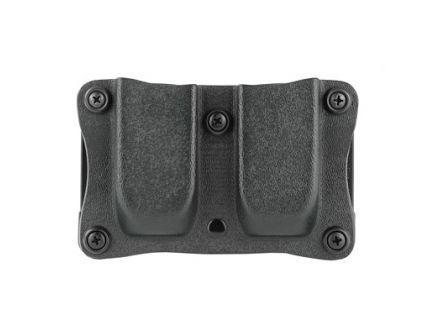 DeSantis Gunhide Quantico Magazine Pouch Fits Most 10mm/45 Single Stack Mags, Ambi, Black Kydex - A87KJLLZ0