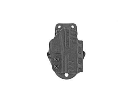 """DeSantis Gunhide DS Paddle Belt Holster Fits 4-4.5"""" FN 509, Black Kydex - D94KA5PZ0"""