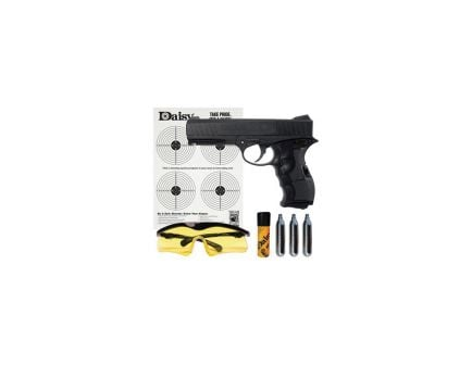 Daisy Outdoor Products 408 .177 Air Pistol Kit, Black - 4408