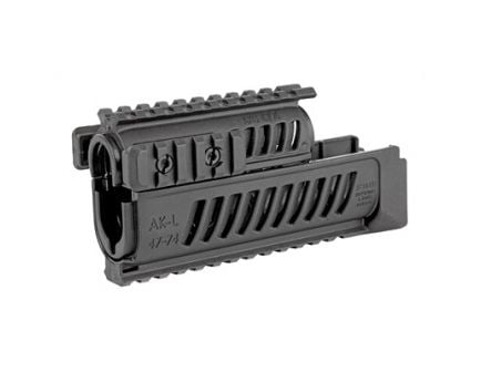 FAB Defense AK-47 Quad Rail Handguard Fits AK-47 Polymer, Black - FX-AK47B