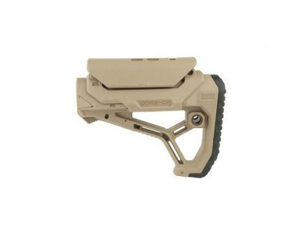 FAB Defense AR-15 Buttstock Fits Mil-Spec And Commercial Tubes, Tan - FX-GLCORECPT