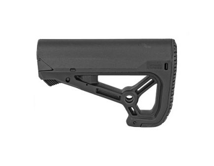 FAB Defense AR-15 Buttstock Small/Compact Design Fits Mil-Spec And Commercial Tubes, Black -  FX-GLCORES