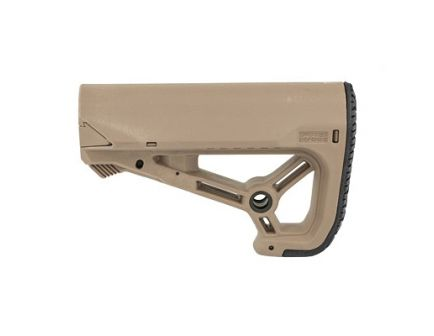 FAB Defense AR-15 Buttstock Small/Compact Design Fits Mil-Spec And Commercial Tubes, FDE - FX-GLCOREST