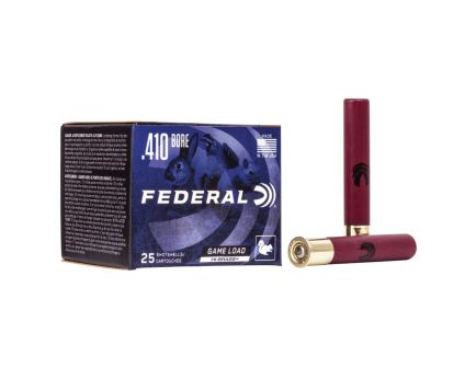 Federal Game Load Upland Hi-Brass 410 Bore Ammo, 25rds - H4135