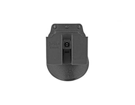 Fobus Roto Double Magazine Pouch For Glock 9/40 Double Stack Magazines, Black - 6900NDRP