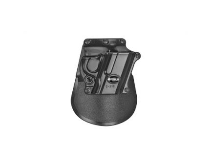Fobus Roto RH OWB Kydex Paddle Holster For HK Compact And 1911 Style, Black - C21BRP