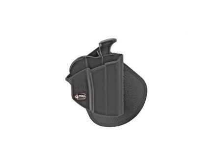 Fobus Level 2 Thumb Lever RH OWB Kydex Paddle Holster For Glock 26/27/33, Black - GL26PB