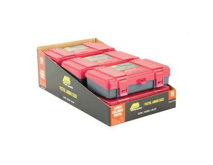Plano 6 Pack 50rd .45ACP/.40 S&W/10mm Handgun Ammunition Boxes, Charcoal/Rose - 122750