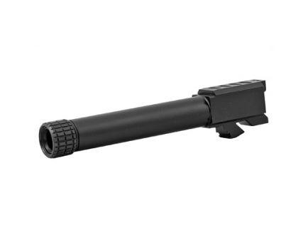 Grey Ghost Precision 9mm Match Grade Barrel for Glock 19 Gen 3 & 4, Black Nitride - G19-T-BN