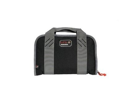 G-Outdoors Soft Pistol Case Holds 2 Compacts, Black - GPS-1107PCCB