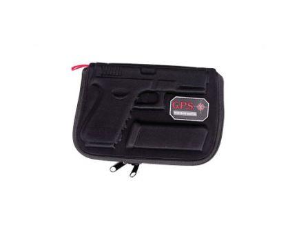 G-Outdoors Molded Soft Pistol Case for Glocks, Black - GPS-907PC