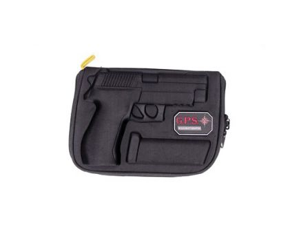 G-Outdoors Soft Pistol Case, Black - GPS-910PC