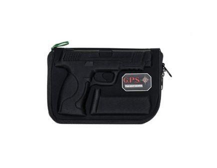 G-Outdoors Soft Pistol Case, Black - GPS-912PC