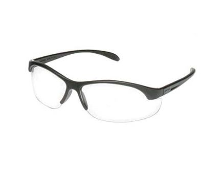 Howard Leight HL2000 Youth Safety Glasses, Black Frame w/ Clear Lens - R-01638