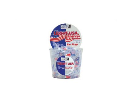 Howard Leight Super Leight Red/White/Blue Foam Ear Plugs, 100 Pairs - R-03113