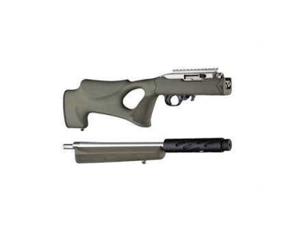 Hogue Piller Bed Thumbhole Stock For Ruger 10/22, OD Green - 21260