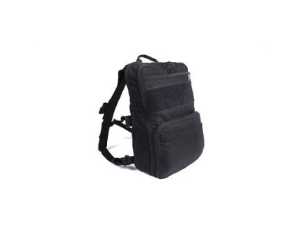 Haley Strategic Partners Flatpack Backpack 14inx10inx6in, Black - FLATPACK-PLUS-BLK