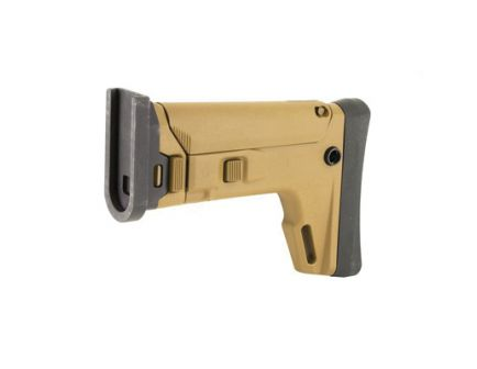 Kinetic Development Group SCAR Adaptable Stock Kit Fits FN SCAR w/ 7 Telescoping Positions, Magpul Brown - SCP5-110