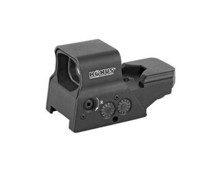 Konus Sight-Pro R8 Multi Reticle Red/Green Dot Sight, Black - 7376