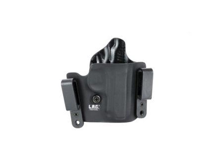 L.A.G. Tactical Defender Series OWB/IWB Holster Fits SIG P238, Black Kydex - 2016