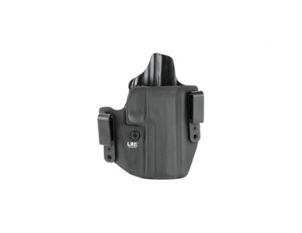 L.A.G. Tactical Defender Series OWB/IWB Right Hand Holster Fits SIG P320 Full Size 9/40, Black Kydex - 2078