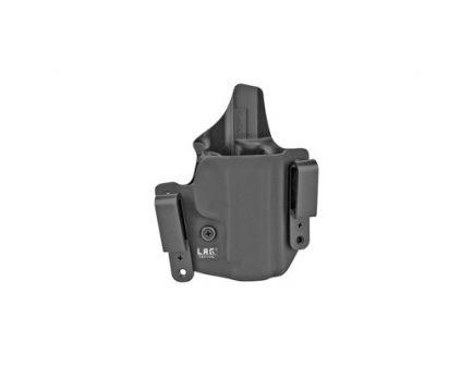 L.A.G. Tactical Defender Series OWB/IWB Holster Fits Sig P365XL, Black Kydex - 2088