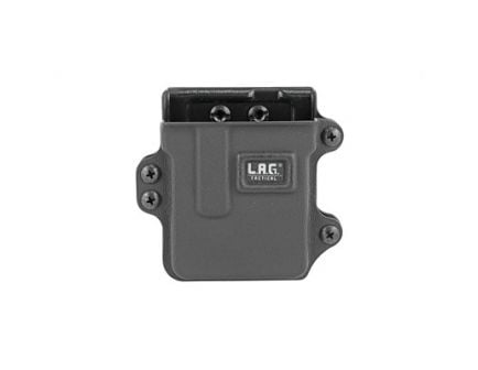 L.A.G. Tactical Single Rifle Magazine Carrier Fits AR-15 & .223 Accuracy Intn Magazines, Black Kydex - 35000