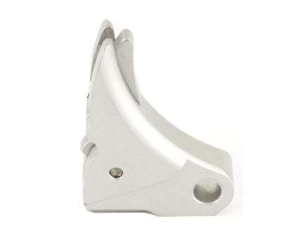 Lone Wolf One-Screw Assembly Trigger Shoe, Silver - LWD-UAT-A