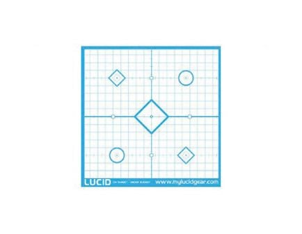 "Lucid Optics 18""x18"" Target w/ Precision In-Sight, 20/Pack - L-TARGET-1"