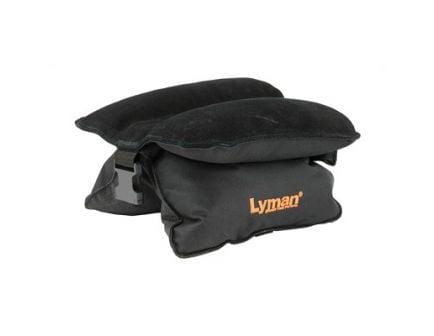 Lyman Match Universal Filled Bag Shooting Rest, Black - 7837802
