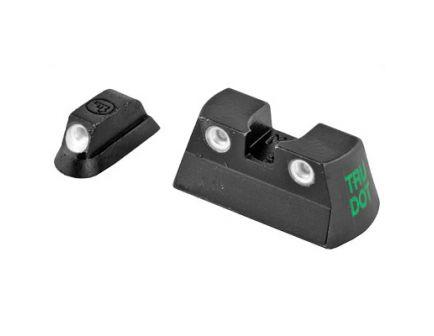 Meprolight Tru-Dot Sight Fits CZ 75 & 85, Green/Green - 0177763101