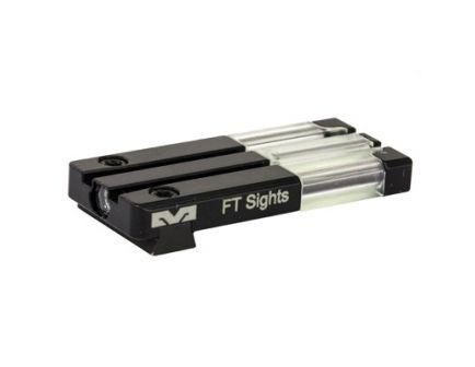 Meprolight Fiber Tritium Bullseye Rear Sight, Fits Sig P226/P320, Green/Green - 0631153108