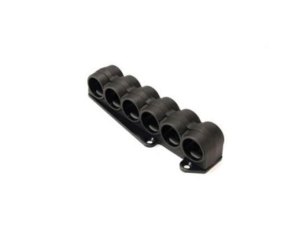 Mesa Tactical SureShell Carrier 6-Shell Side Saddle, Fits 12 Ga Mossberg 930, Black - 94760