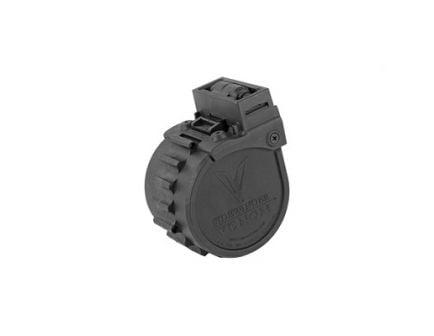 Adaptive Tactical Sidewider Venom 10 Round 12 Gauge Drum Magazine, Black - AT-00902