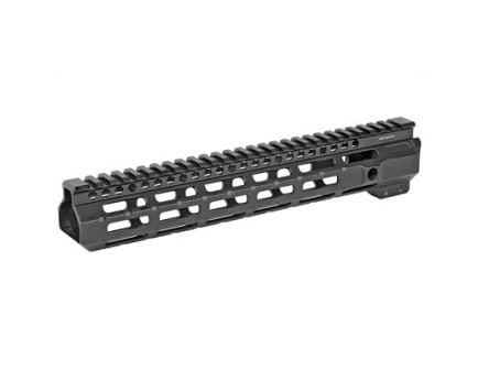 "Midwest Industries 11.5"" MLOK Combat Rail Handguard w/ 5-Slot Rail Section, Black Anodized - MI-CRM11.5"
