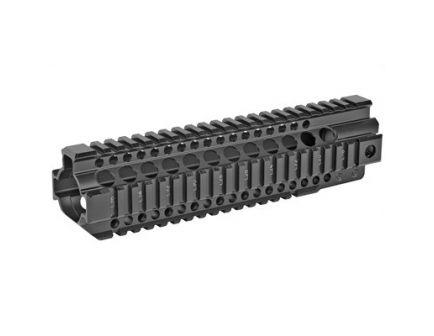 "Midwest Industries 9.25"" Quad Rail Combat T-Series Free Float Handguard, Black Anodized - MI-CRT9.25"