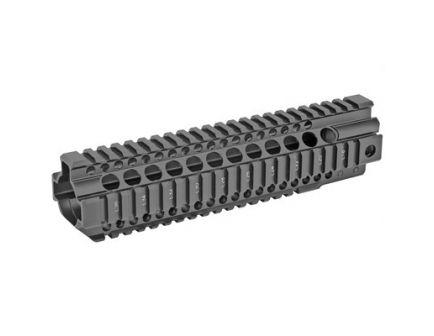 "Midwest Industries 9.25"" Quad Rail Combat T-Series Free Float Handguard, Black Anodized - MI-CRT9.5"