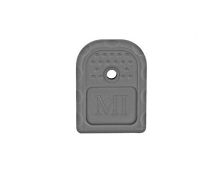 Midwest Industries Alum  9MM/40 Cal Magazine Base Plate Fits Glock 9/40 Double Stack, Black Anodized - MI-GBP-9,40-BLK