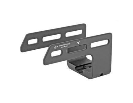 Midwest Industries MLOK Aluminum Light Mount w/ Hand Stop Fits Keltec, Black Anodized - KSG MI-KSG-MM