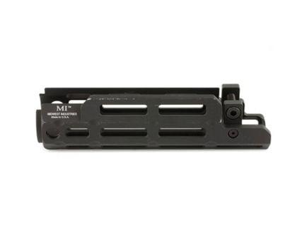 Midwest Industries M-LOK Handguard w/ Mil-Spec Top Rail Fits HK MP5 and Clones, Black - MI-MP5M