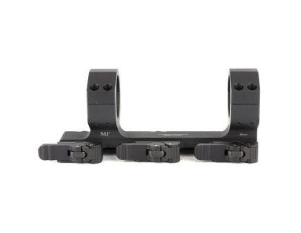 Midwest Industries Extreme Duty QD 34mm Scope Mount w/ 3 QD Levers, Black - MI-QD34XDSM