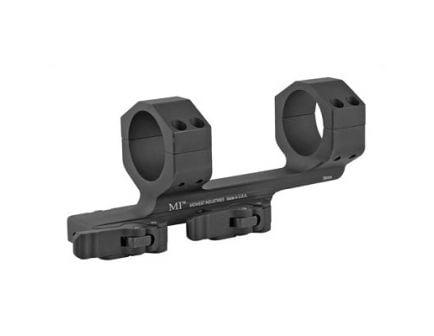 Midwest Industries 35mm QD Ring Mount Fits Picatinny Rail, Black - MI-QD35SM