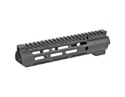 "Midwest Industries 9.25"" MLOK Slim Line Alum Handguard Fits AR Rifles w/ 5-Slot Polymer Rail, Black Anodized - MI-SLH9.25"