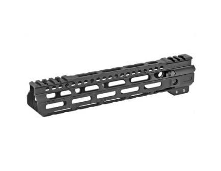 """Midwest Industries 10.5"""" Ultra Lightweight M-Lok Handguard w/ 5-Slot Polymer M-Lok Rail Fits AR Rifles, Black - MI-ULW10.5"""
