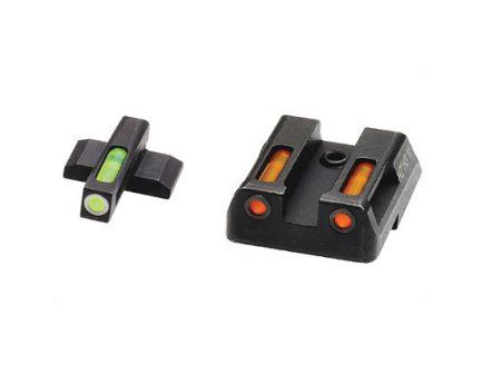Hi-Viz LiteWave H3 H&K VP9/P30 Tritium Litepipe Night Sight Set, Green/Orange - HKN421