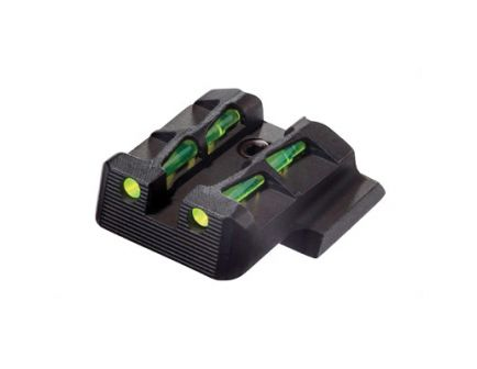 Hi-Viz Litewave Smith & Wesson M&P Interchangeable Rear Sights, Red/Green - MPLW11