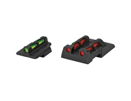 Hi-Viz Ruger Security 9 Green/Red/Black Rear, Green/Red/White Front Interchangeable Sights - RGS9LW21