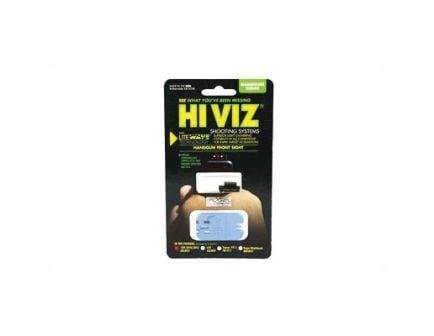 Hi-Viz Litewave Ruger SR9/SR40 Interchangeable Front Sight, Red/Green - SRLW01